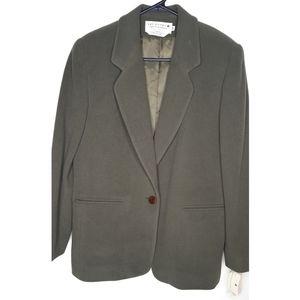 The Works Saks Fifth Avenue Wool Blazer Coat